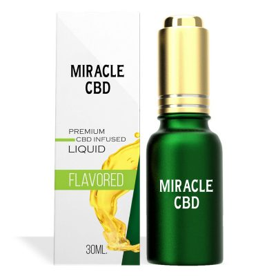 Raspberry Lemonade Flavor Miracle CBD Oil