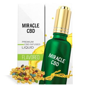 Crunch and Berries Cereal Flavor Miracle CBD Oil