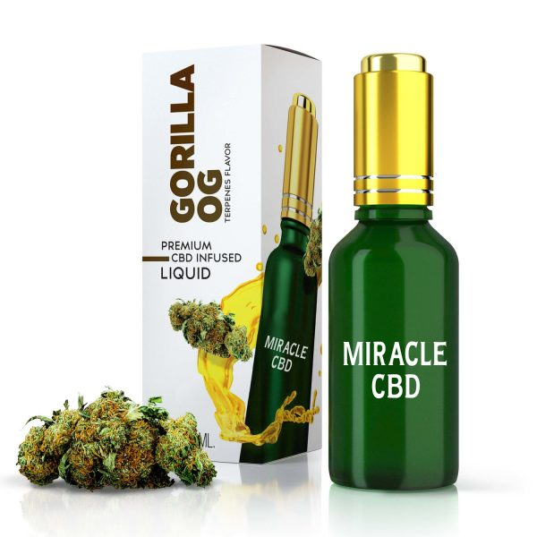 Gorilla OG Terpenes Diamond CBD Oil