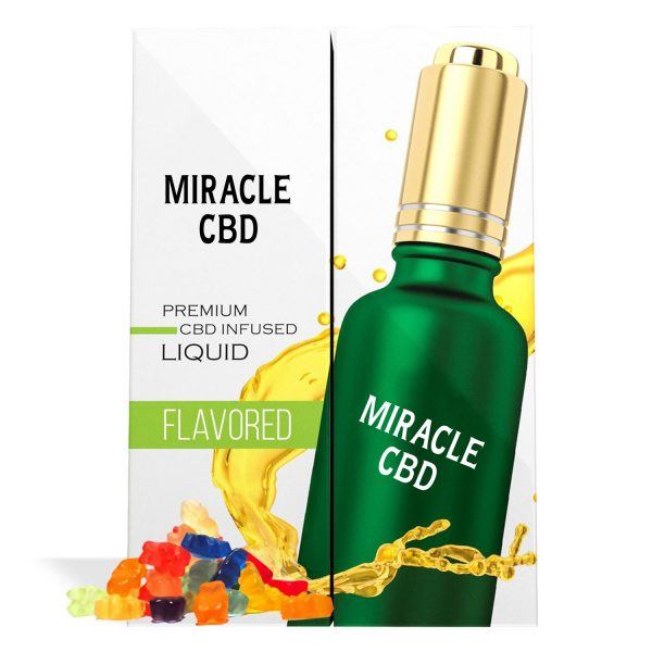 Gummy Bear Flavor Miracle CBD Oil