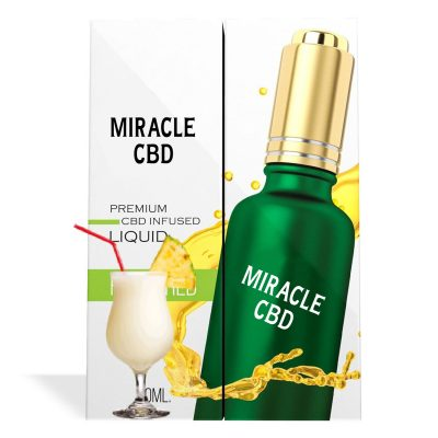 Piña Colada Flavor Miracle CBD Oil