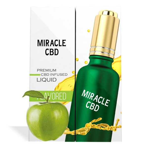 Green Apple Flavor Miracle CBD Oil